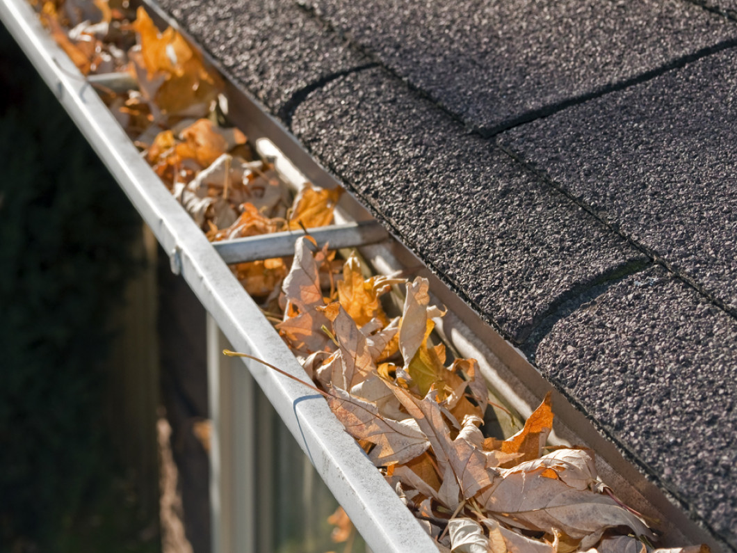Clean your gutters before the winter hits